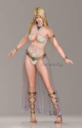 Dead or Alive 5 Last Round - Helena Showstopper by SabishikuKage