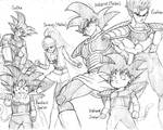 Kakarot and samus family