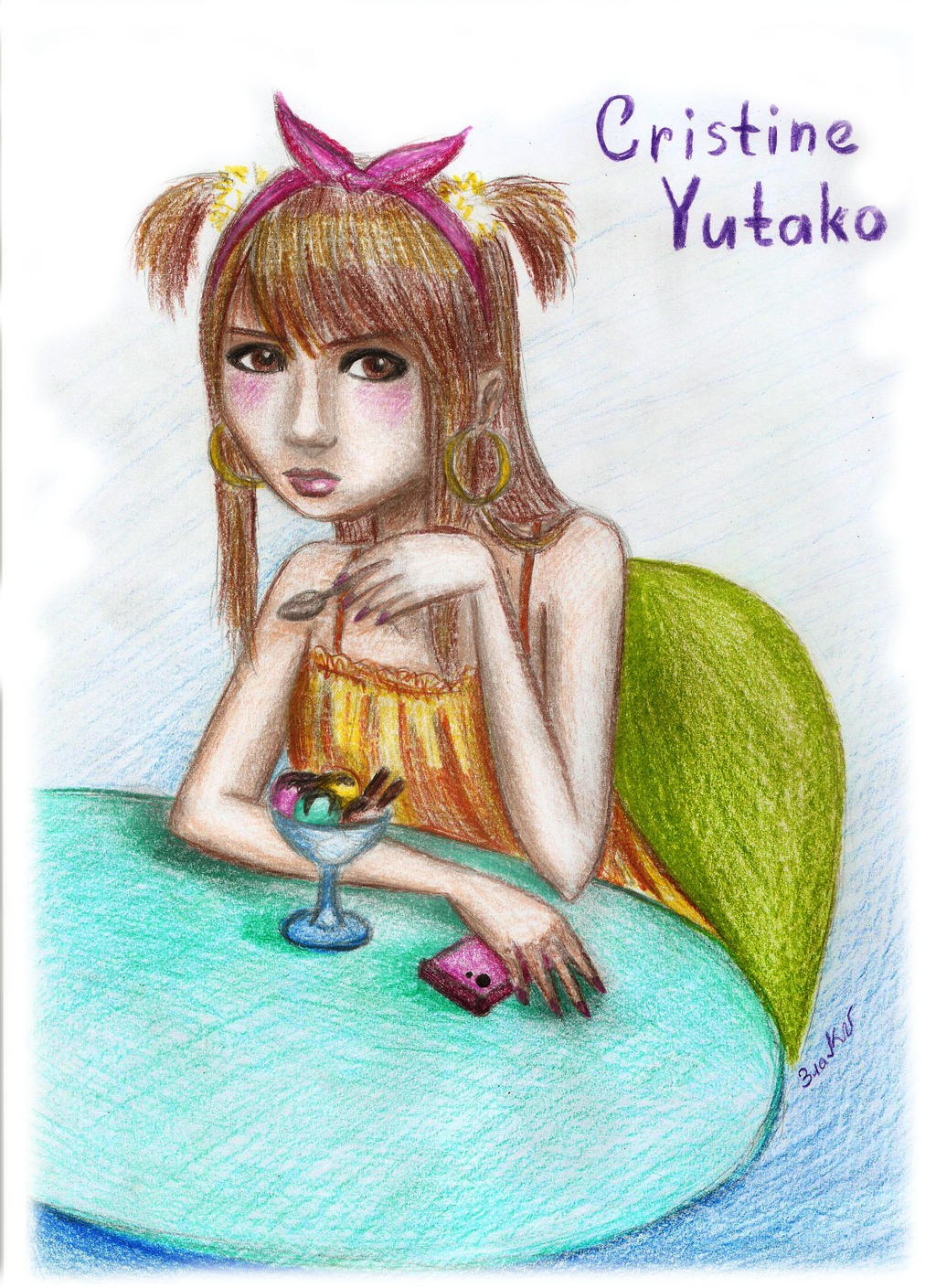 Cristine Yutako by GoldenYume