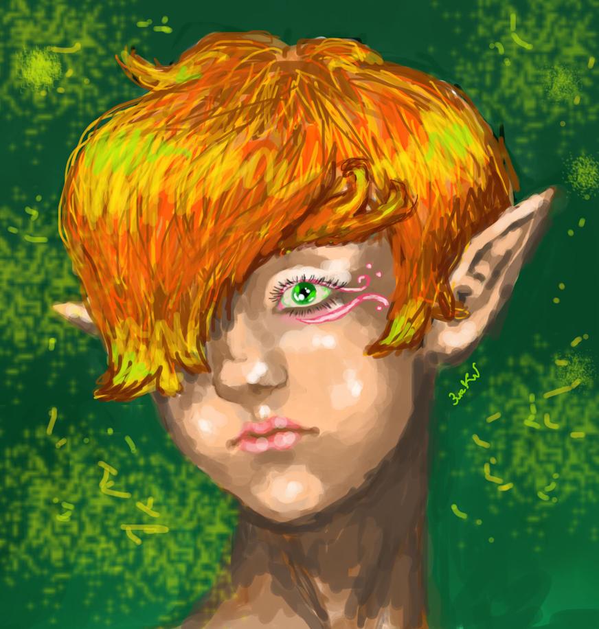 Elf by GoldenYume