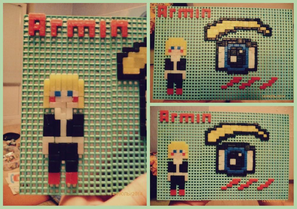 Armin Arlert [Mosaic] by GoldenYume