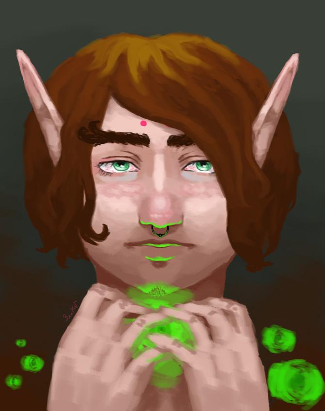 I'm elf by GoldenYume