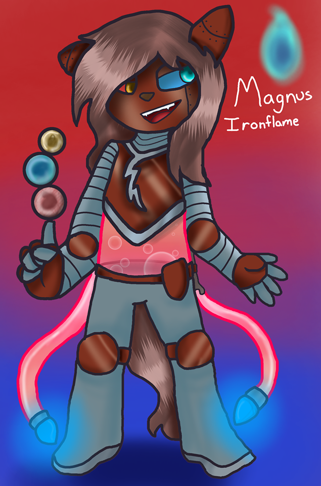Magnus Ironflame by TheUltimateMagikarp