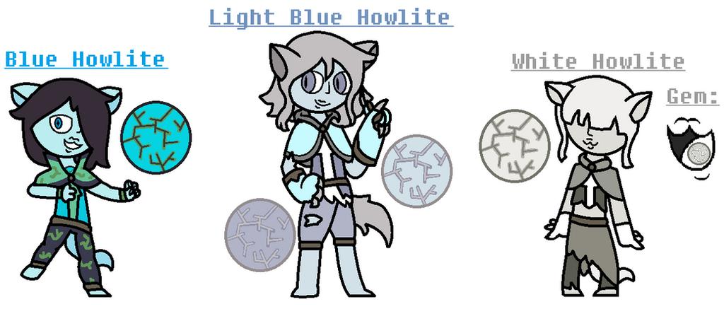 Howlites by TheUltimateMagikarp