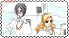 Uryu and Alexis stamp by Lady1Venus