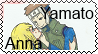Yamato and Anna Stamp by Lady1Venus