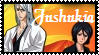 Jushiro and Rukia Stamp by Lady1Venus