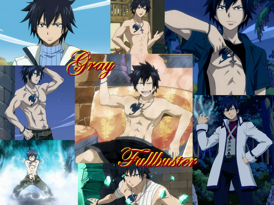 REQUEST: Gray Fullbuster by Lady1Venus