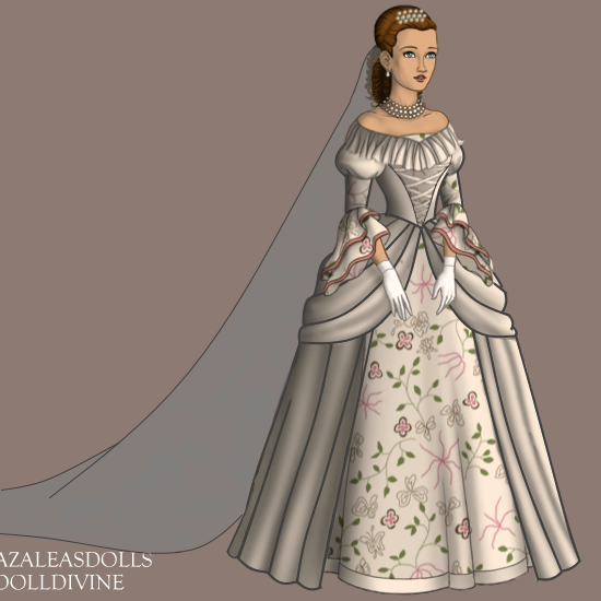 Sabrina's wedding dress by Lady1Venus