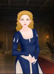 Black Butler OC: Misty's Original Wedding Dress by Lady1Venus
