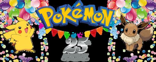 Pokemon Day 25 Annivesary