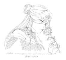 Sabrina Sketch By Xa-Wien