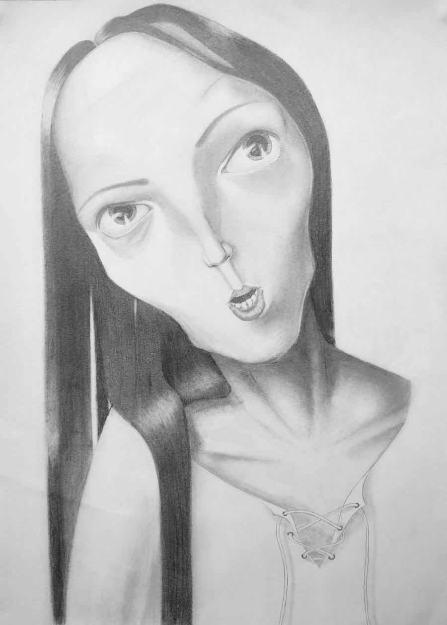 Andraya with the Long face. by freezingmoon