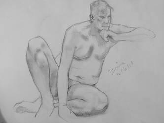 June 4th - Life Drawing, VII