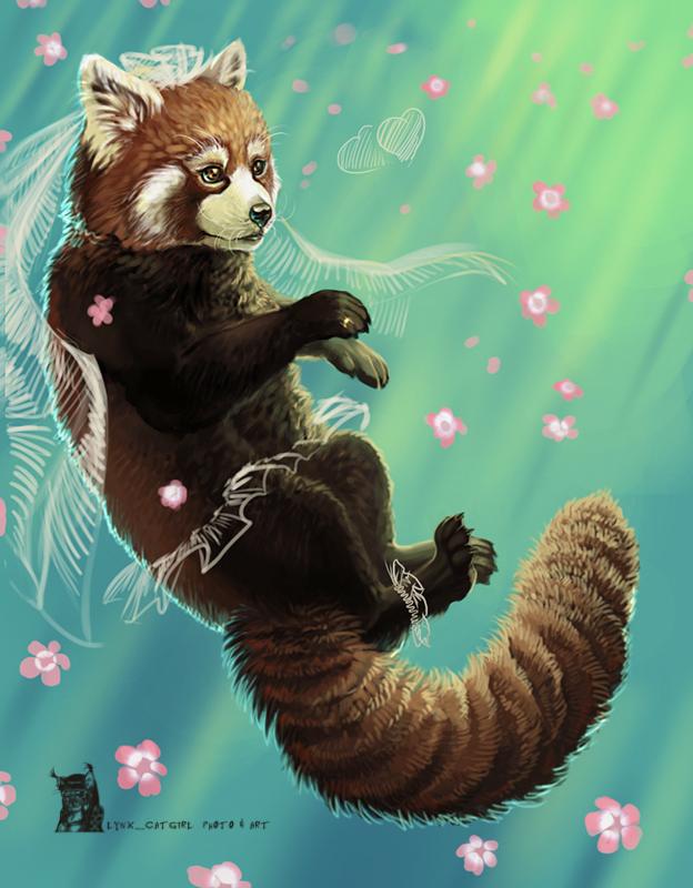 Red Panda by Lynx-Catgirl