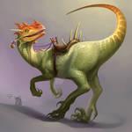 Horned Raptor