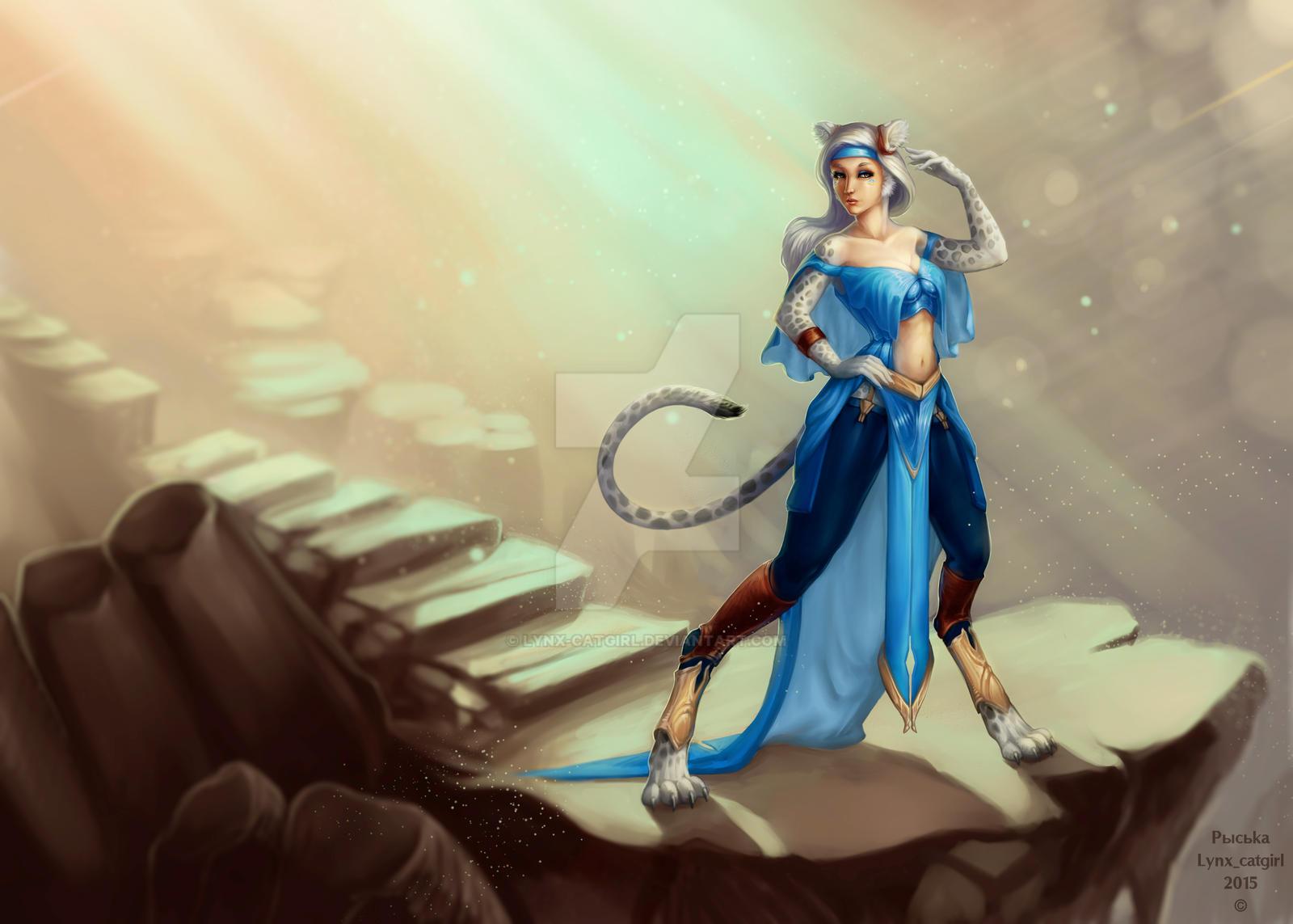 Rosalinda's new style by Lynx-Catgirl