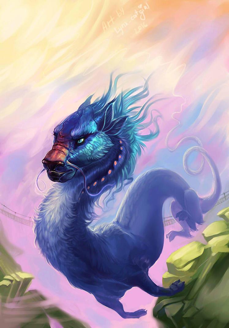 Eastern flight by Lynx-Catgirl