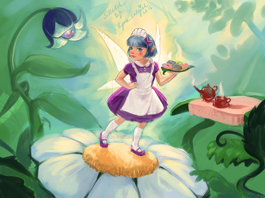 Donuts fairy by Lynx-Catgirl