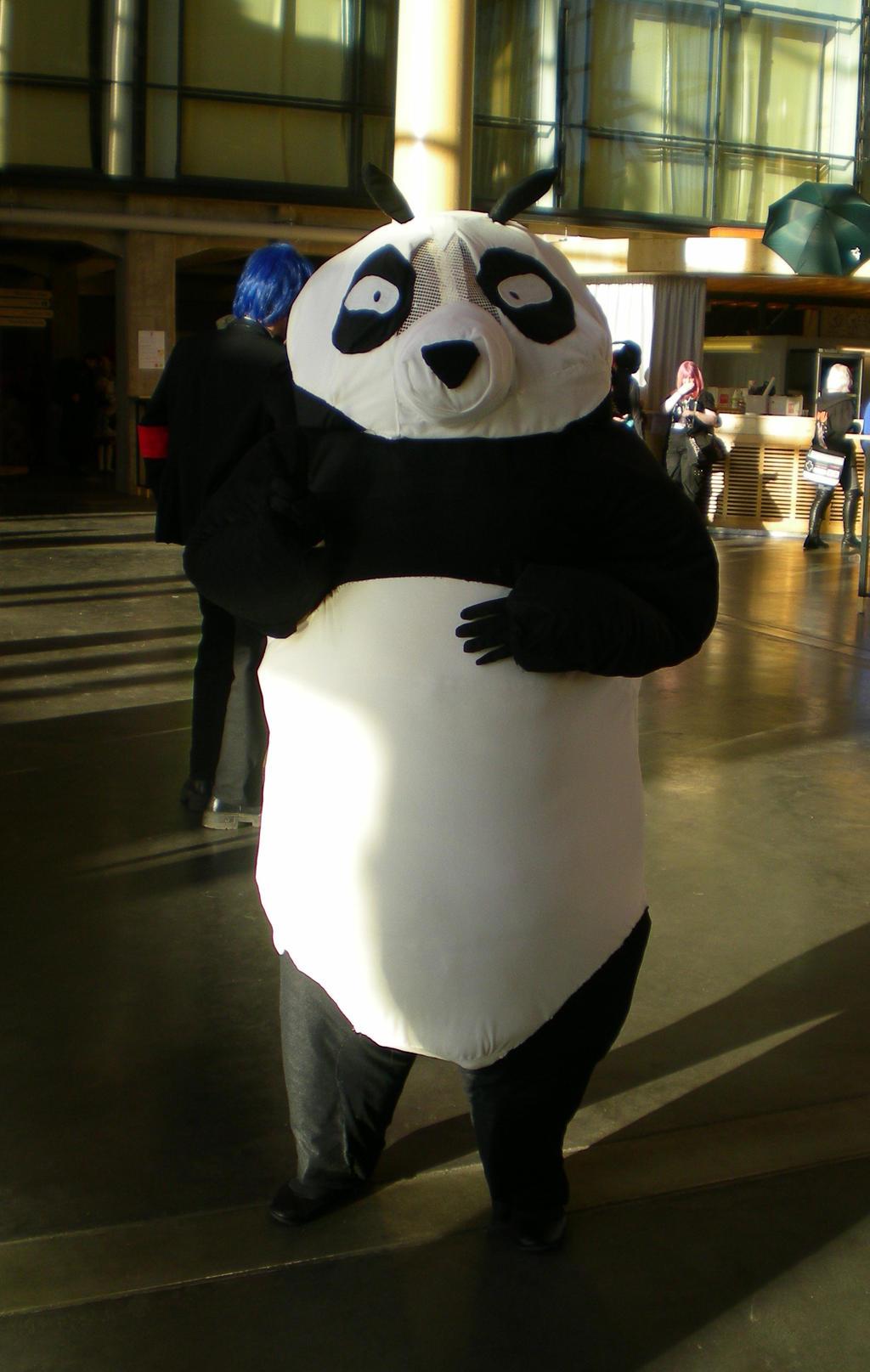 Genma As A Panda Cosplay Desucon 2013 By Sleepyhamsteri