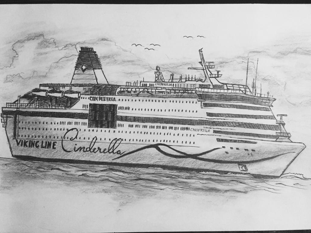 Draw A Cruise Ship By DaiDuong On DeviantArt - Draw a cruise ship