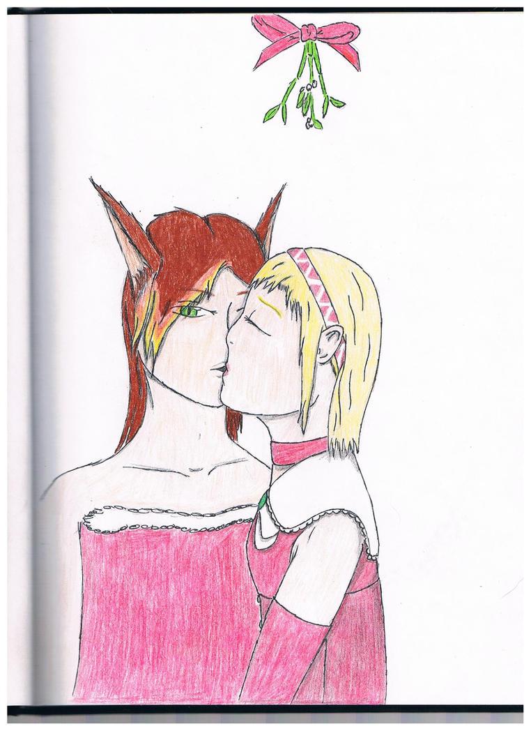 Mistletoe Kiss by Moreuse