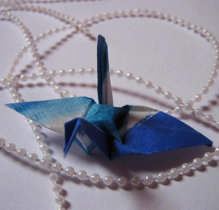 Blue Tsuru by oasiaris