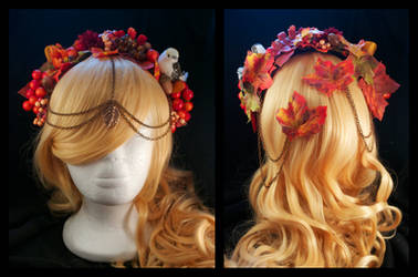 Autumn Headpiece by oasiaris