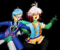 Hubert and Pascal