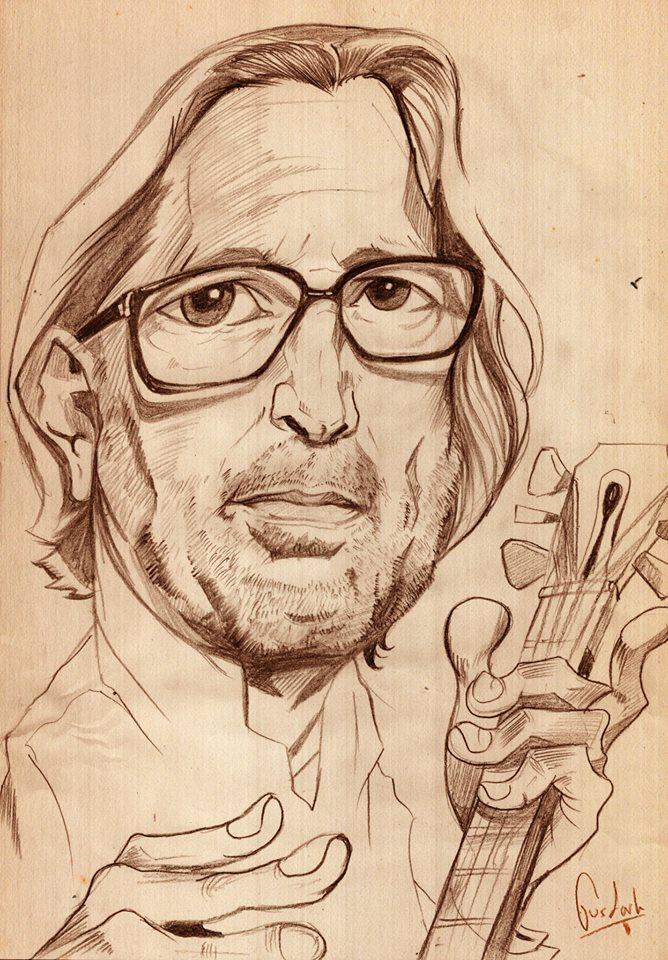 Eric Clapton by GusDark