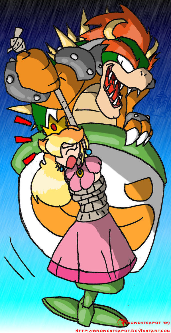 princess peach and daisy get captured naked