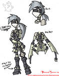 Straight Jacket Gal -concept-