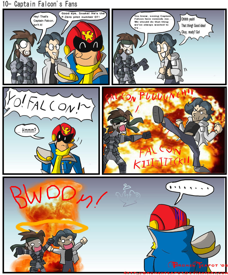 Captain Falcon's Fans by BrokenTeapot