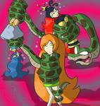 Kaa's game girls