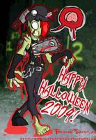 HAPPY HALLOWEEN 2009 by BrokenTeapot