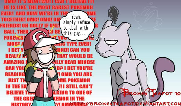 Why Mewtwo isn't in Brawl