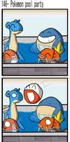 Pokemon pool party