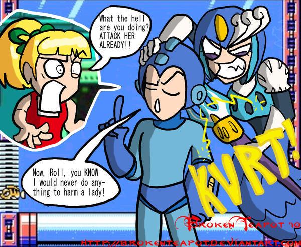 Megaman porno roll 14