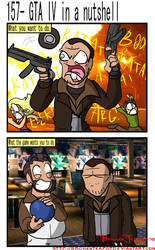 GTA IV in a nutshell by BrokenTeapot