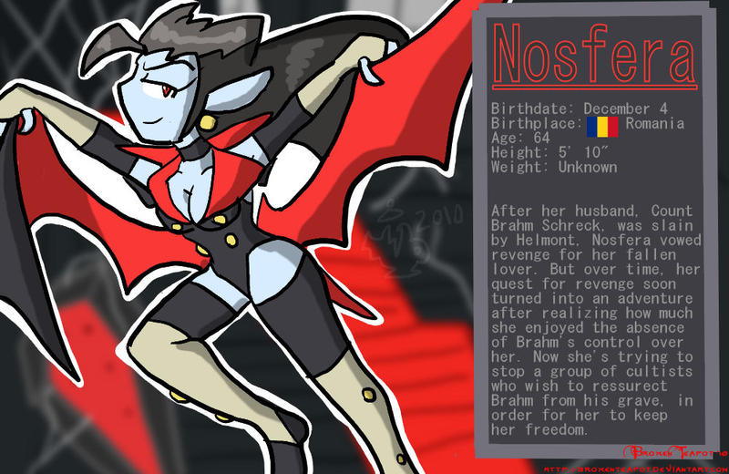 Nosfera Bio by BrokenTeapot