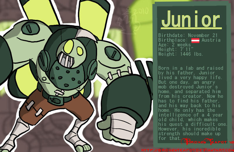 Junior Bio by BrokenTeapot