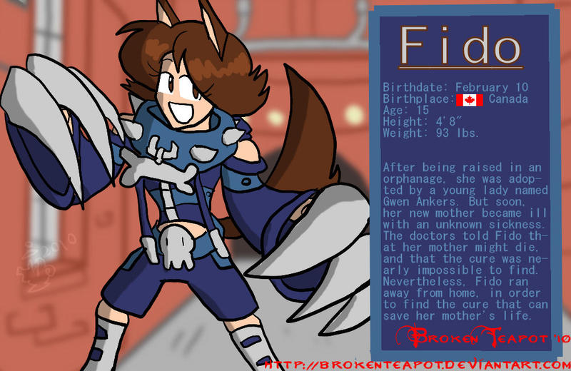 Fido Bio by BrokenTeapot