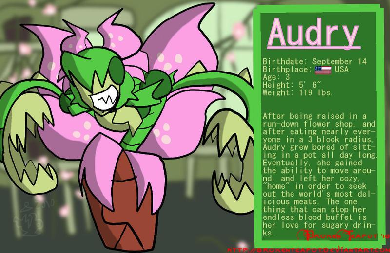 Audry Bio by BrokenTeapot