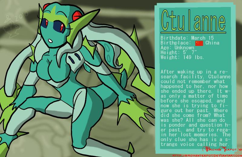 Ctulanne Bio by BrokenTeapot