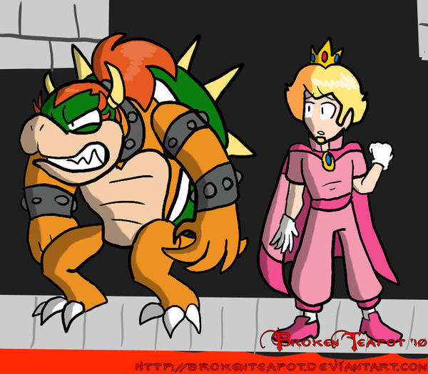 peach and bowser image search results