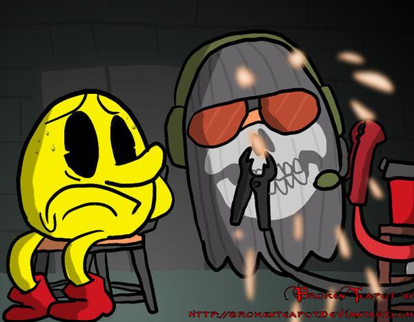 Taverna Santa Madre cassino - Página 32 Pacman_vs__Ghost_by_BrokenTeapot