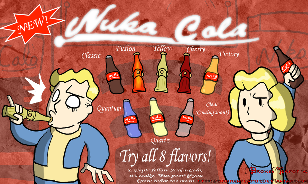 The Nuka Cola Family By BrokenTeapot