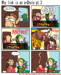 Why link is an a+$hole pt.3 by BrokenTeapot