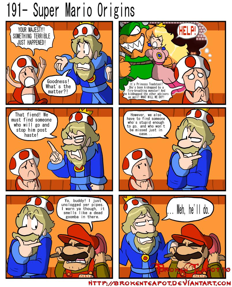 Super Mario Origins Brokenteapot