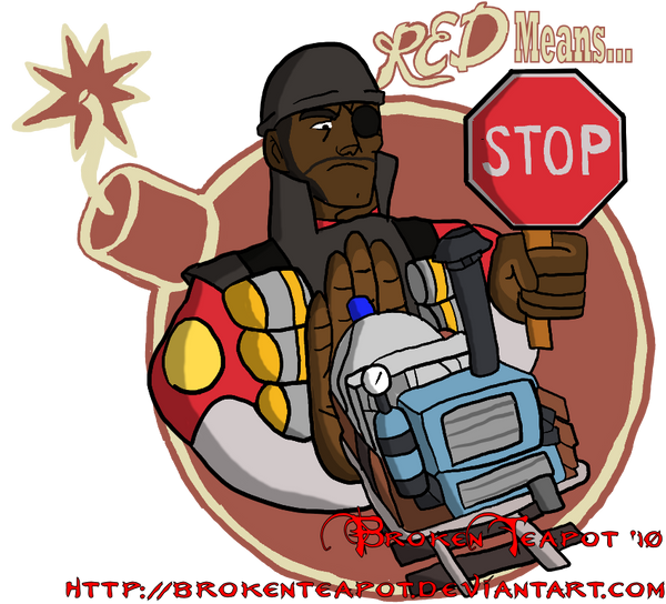 RED TF2 Payload Spray By BrokenTeapot On DeviantArt
